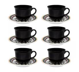 Jogo de Xícaras para Chá Oxford 12 Peças Luiza J568-6750