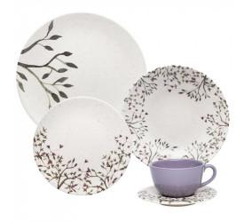 Aparelho de Jantar/Chá 20 Pçs Lilac Oxford AY20-5625