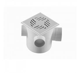 Caixa Sifonada Quadrada Branco CS1