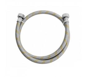 Ligação Blukit Flexível Aço Inox P/Gás 3/8 1,25M 182503-41