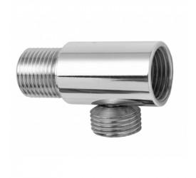 Desviador Blukit Cromado 1/2x1/2x1/2 C/Cap 102301-21