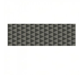 Passadeira Mix Triângulos 55cmx1,50cm Kapazi 380240