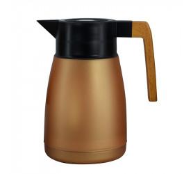 Garrafa Térmica Coffeeshop em Cobre Metálico 1L 26989