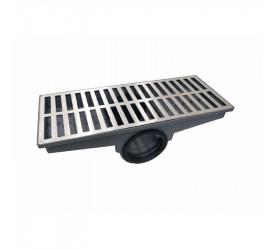 Caixa Coletora Com Grelha de Alumínio 20x50Cm Brec 31298