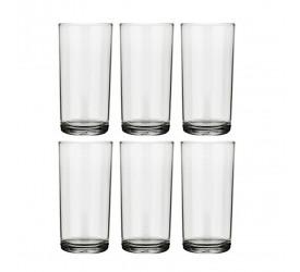 Jogo de Copos Long Drink Nadir Figueiredo 300ml Cylinder 6 Unidades