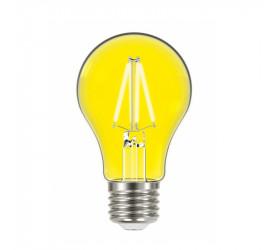 Lâmpada de Led Filamento Taschibra Color Amarela A60 8666