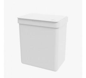 Lixeira Single Branca 2,5L Coza 170090007