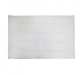 Tapete Ônix Branco 45x70cm Kapazi 00txt004