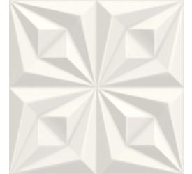 Porcelanato Ceusa 58x58cm Drapeado Branco 5066071
