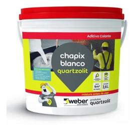 Chapix Quartzolit Blanco Balde - 3,6L