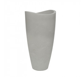 Vaso Vasart Copacabana 40x80cm Antique Branco R038004008017