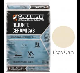 Rejunte Cerâmicas Ceramfix Bege Claro 1Kg