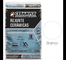 Rejunte Cerâmicas Ceramfix Branco 1Kg