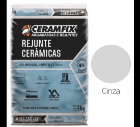 Rejunte Cerâmicas Ceramfix Cinza 1Kg