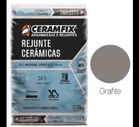 Rejunte Cerâmicas Ceramfix Grafite 1Kg