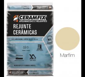 Rejunte Cerâmica Ceramfix Marfim 1Kg