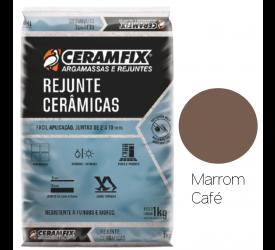 Rejunte Cerâmica Ceramfix Marrom Café 1Kg