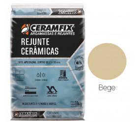 Rejunte Cerâmicas Ceramfix Bege 1Kg