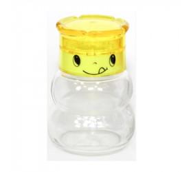 Moedor de Sal ou Pimenta Rbc em Vidro Amarelo 134002